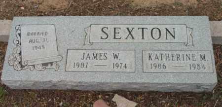 SEXTON, KATHERINE M. - Yavapai County, Arizona   KATHERINE M. SEXTON - Arizona Gravestone Photos