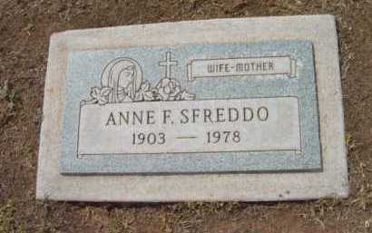 MORNING SFREDDO, ANNE F. - Yavapai County, Arizona | ANNE F. MORNING SFREDDO - Arizona Gravestone Photos