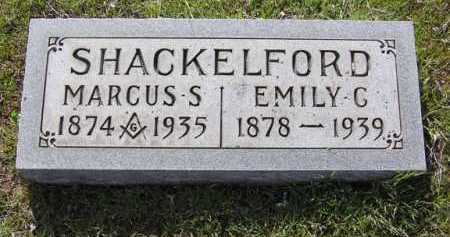 SHACKELFORD, EMILY G. - Yavapai County, Arizona | EMILY G. SHACKELFORD - Arizona Gravestone Photos
