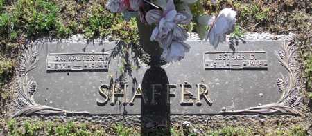 SHAFFER, ESTHER DORA - Yavapai County, Arizona | ESTHER DORA SHAFFER - Arizona Gravestone Photos