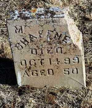 SHAFFNER, M. E. - Yavapai County, Arizona | M. E. SHAFFNER - Arizona Gravestone Photos