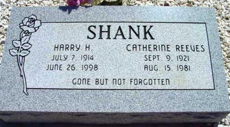 SHANK, HARRY H. - Yavapai County, Arizona | HARRY H. SHANK - Arizona Gravestone Photos