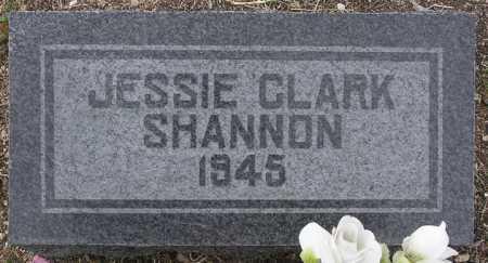 SHANNON, JESSIE CLARK - Yavapai County, Arizona | JESSIE CLARK SHANNON - Arizona Gravestone Photos