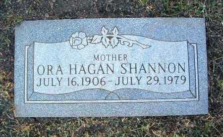 SHANNON, ORA INEZ - Yavapai County, Arizona   ORA INEZ SHANNON - Arizona Gravestone Photos