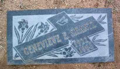 ANSLEY SHANTZ, GENEVIEVE - Yavapai County, Arizona | GENEVIEVE ANSLEY SHANTZ - Arizona Gravestone Photos
