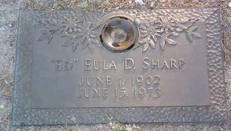 SHARP, EULA D. (ED) - Yavapai County, Arizona | EULA D. (ED) SHARP - Arizona Gravestone Photos