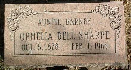 SHARPE, OPHELIA BELL - Yavapai County, Arizona   OPHELIA BELL SHARPE - Arizona Gravestone Photos