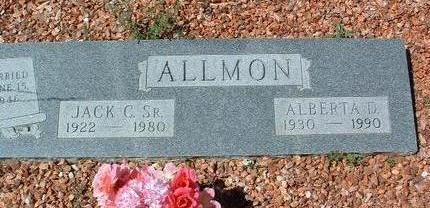 SHARP ALLMON, ALBERTA D. - Yavapai County, Arizona | ALBERTA D. SHARP ALLMON - Arizona Gravestone Photos