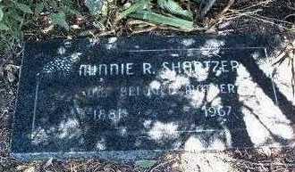 SHARTZER, MINNIE REBECCA - Yavapai County, Arizona   MINNIE REBECCA SHARTZER - Arizona Gravestone Photos