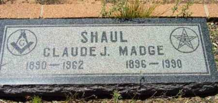 SHAUL, MADELEN (MADGE) - Yavapai County, Arizona | MADELEN (MADGE) SHAUL - Arizona Gravestone Photos