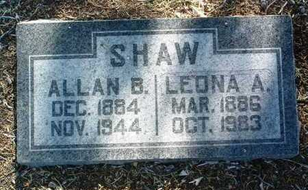 SHAW, LEONA A. - Yavapai County, Arizona | LEONA A. SHAW - Arizona Gravestone Photos