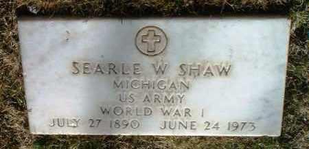 SHAW, SEARLE W. - Yavapai County, Arizona | SEARLE W. SHAW - Arizona Gravestone Photos