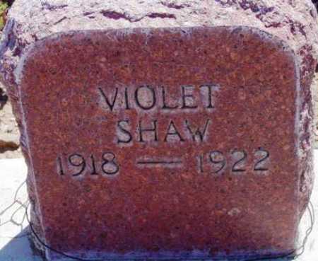 SHAW, VIOLET ELAINE - Yavapai County, Arizona | VIOLET ELAINE SHAW - Arizona Gravestone Photos