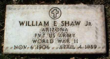 SHAW, WILLIAM E., JR. - Yavapai County, Arizona | WILLIAM E., JR. SHAW - Arizona Gravestone Photos