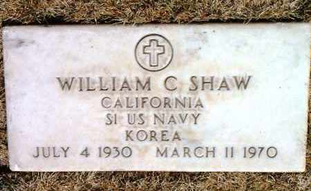 SHAW, WILLIAM C. - Yavapai County, Arizona | WILLIAM C. SHAW - Arizona Gravestone Photos