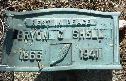 SHELL, BRYON G. - Yavapai County, Arizona | BRYON G. SHELL - Arizona Gravestone Photos