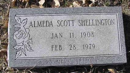 SCOTT SHELLINGTON, A. - Yavapai County, Arizona   A. SCOTT SHELLINGTON - Arizona Gravestone Photos