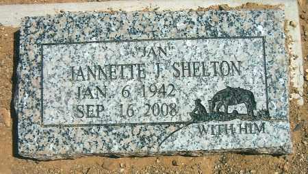 SHELTON, JANNETTE J. (JAN) - Yavapai County, Arizona | JANNETTE J. (JAN) SHELTON - Arizona Gravestone Photos