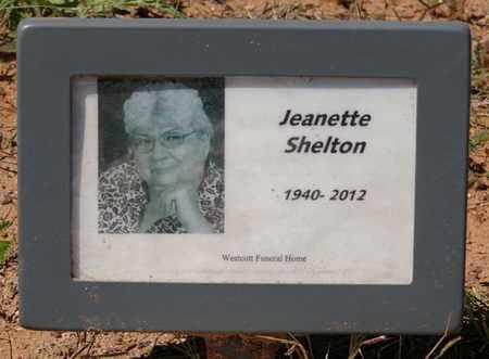 SHELTON, JEANETTE EDNA - Yavapai County, Arizona | JEANETTE EDNA SHELTON - Arizona Gravestone Photos