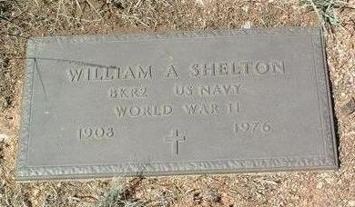 SHELTON, WILLIAM A. - Yavapai County, Arizona | WILLIAM A. SHELTON - Arizona Gravestone Photos