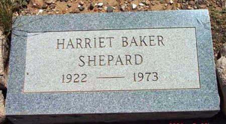 BAKER SHEPARD, HARRIET - Yavapai County, Arizona | HARRIET BAKER SHEPARD - Arizona Gravestone Photos
