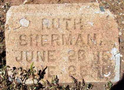 SHERMAN, BARBARA RUTH - Yavapai County, Arizona | BARBARA RUTH SHERMAN - Arizona Gravestone Photos