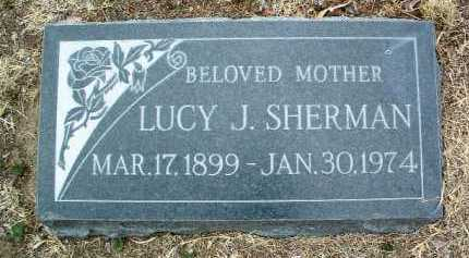 SHERMAN, LUCY JANE - Yavapai County, Arizona | LUCY JANE SHERMAN - Arizona Gravestone Photos