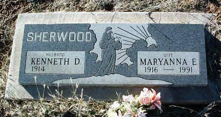 SHERWOOD, KENNETH D. - Yavapai County, Arizona | KENNETH D. SHERWOOD - Arizona Gravestone Photos