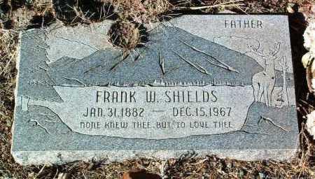 SHIELDS, FRANK WARD - Yavapai County, Arizona | FRANK WARD SHIELDS - Arizona Gravestone Photos