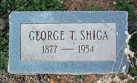 SHIGA, GEORGE TAJIRO - Yavapai County, Arizona | GEORGE TAJIRO SHIGA - Arizona Gravestone Photos