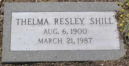 SHILL, THELMA - Yavapai County, Arizona | THELMA SHILL - Arizona Gravestone Photos