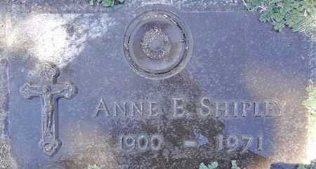 SHIPLEY, ANNE E. - Yavapai County, Arizona | ANNE E. SHIPLEY - Arizona Gravestone Photos