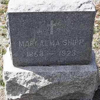 SHIPP, MARY ALMA - Yavapai County, Arizona | MARY ALMA SHIPP - Arizona Gravestone Photos