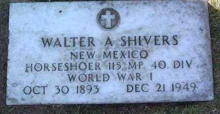 SHIVERS, WALTER ANGUS - Yavapai County, Arizona | WALTER ANGUS SHIVERS - Arizona Gravestone Photos