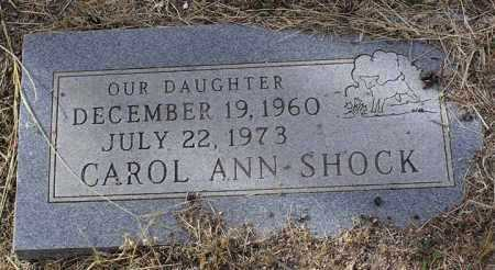 SHOCK, CAROL ANN - Yavapai County, Arizona   CAROL ANN SHOCK - Arizona Gravestone Photos