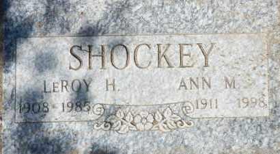 SHOCKEY, ANN MARY - Yavapai County, Arizona | ANN MARY SHOCKEY - Arizona Gravestone Photos