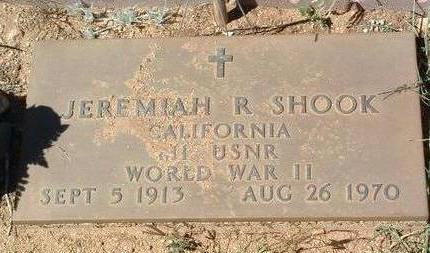 SHOOK, JEREMIAH RAYMOND - Yavapai County, Arizona | JEREMIAH RAYMOND SHOOK - Arizona Gravestone Photos