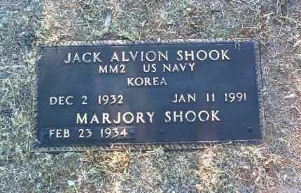 SHOOK, MARJORY - Yavapai County, Arizona | MARJORY SHOOK - Arizona Gravestone Photos