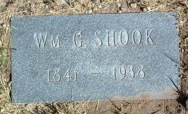 SHOOK, WILLIAM G. - Yavapai County, Arizona | WILLIAM G. SHOOK - Arizona Gravestone Photos