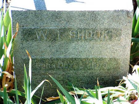 SHOOK, W. T. - Yavapai County, Arizona | W. T. SHOOK - Arizona Gravestone Photos