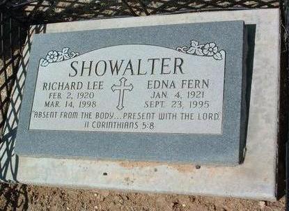SHOWALTER, EDNA FERN - Yavapai County, Arizona | EDNA FERN SHOWALTER - Arizona Gravestone Photos