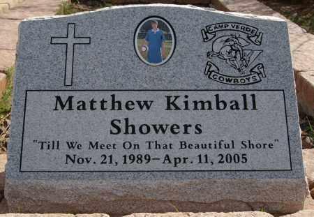 SHOWERS, MATTHEW KIMBALL - Yavapai County, Arizona   MATTHEW KIMBALL SHOWERS - Arizona Gravestone Photos