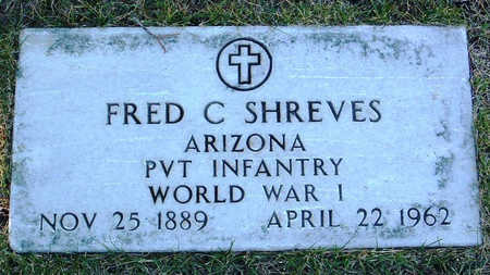 SHREVES, FRED CYRUS - Yavapai County, Arizona   FRED CYRUS SHREVES - Arizona Gravestone Photos