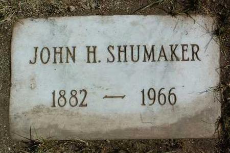 SHUMAKER, JOHN HENRY - Yavapai County, Arizona | JOHN HENRY SHUMAKER - Arizona Gravestone Photos