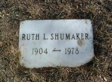 SHUMAKER, RUTH LILLIAN - Yavapai County, Arizona | RUTH LILLIAN SHUMAKER - Arizona Gravestone Photos