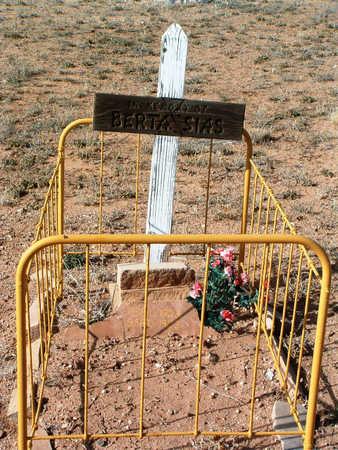 SIAS, BERTA - Yavapai County, Arizona | BERTA SIAS - Arizona Gravestone Photos