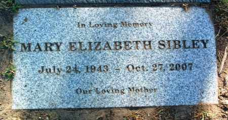 SIBLEY, MARY ELIZABETH - Yavapai County, Arizona | MARY ELIZABETH SIBLEY - Arizona Gravestone Photos