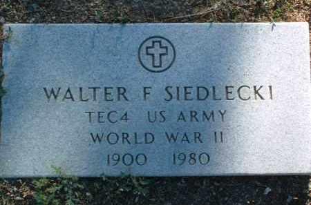SIEDLECKI, WALTER FRANK - Yavapai County, Arizona | WALTER FRANK SIEDLECKI - Arizona Gravestone Photos