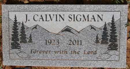 SIGMAN, JAMES CALVIN - Yavapai County, Arizona   JAMES CALVIN SIGMAN - Arizona Gravestone Photos