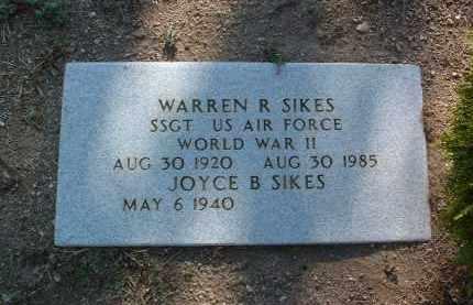 SIKES, WARREN ROBERT - Yavapai County, Arizona | WARREN ROBERT SIKES - Arizona Gravestone Photos